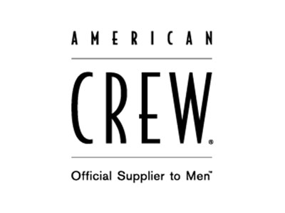 American Crew Brand Logo serving as a button link to their website