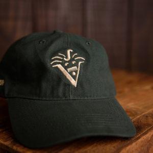 V's baseball caps