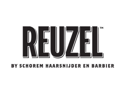 Reuzel Brand logo serving as an icon link to their website