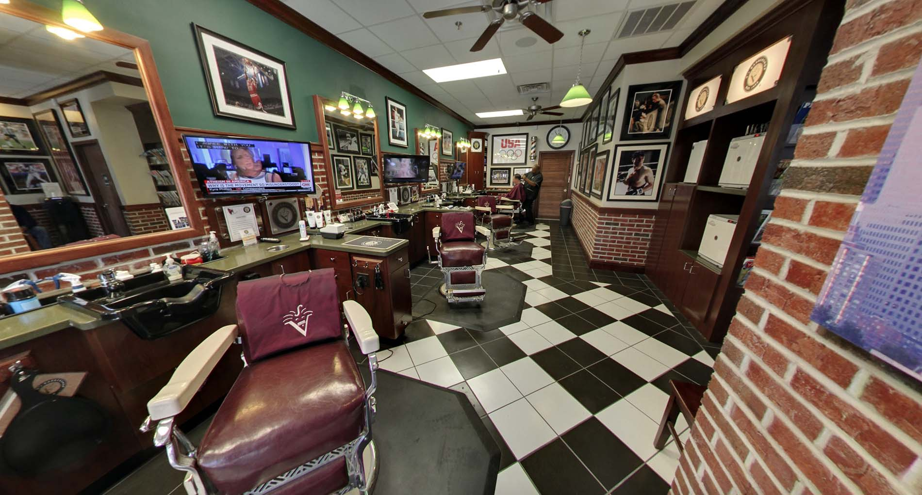 Jersey City - V's Barbershop