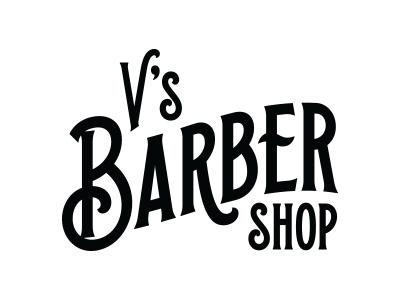 V's Barbershop logo